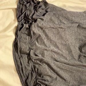 lululemon athletica Tops - Lululemon Black and Gray Workout Shirt